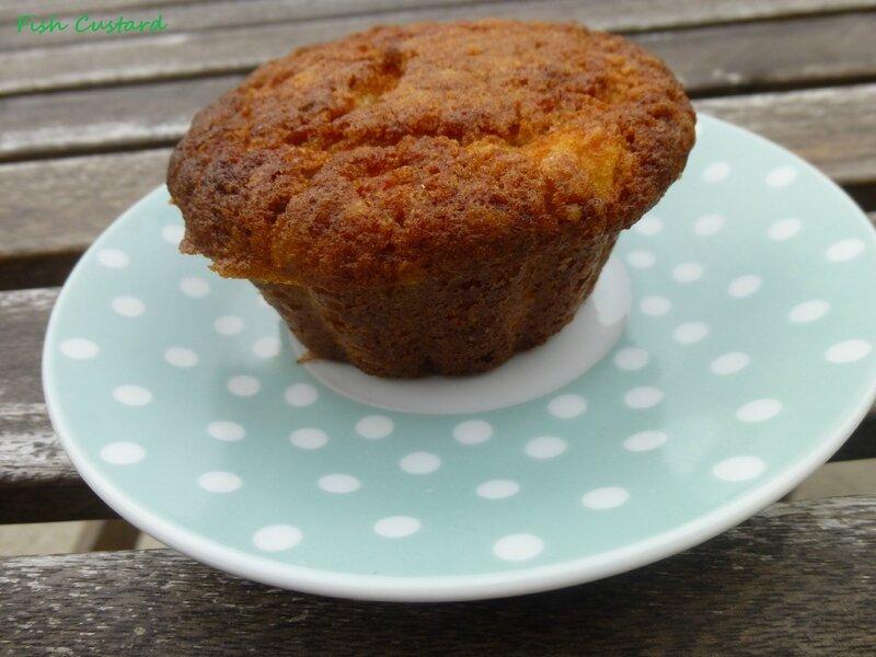 Muffins aux flocons d'avoine et pommes 2 (5)