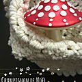 champignon de Noël marimerveille