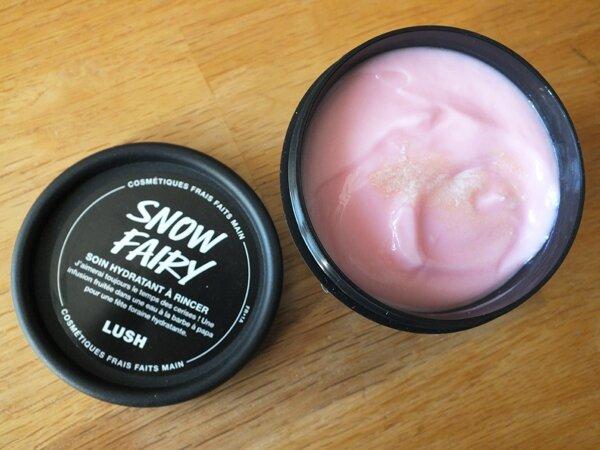 4 Soin Hydratant à rincer Lush Snow Fairy