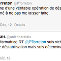Le faux compte twitter de Philippe Torreton pilot par des rouges-bruns