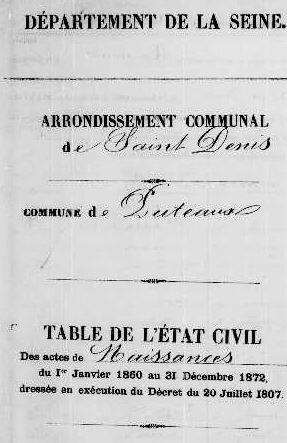 1868 le 22 août N de Corentine à Puteaux 92-2