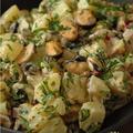 Super bonne salade de pommes de terre version marine !
