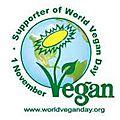 Aujourd'hui c'est la journée mondiale vegan...