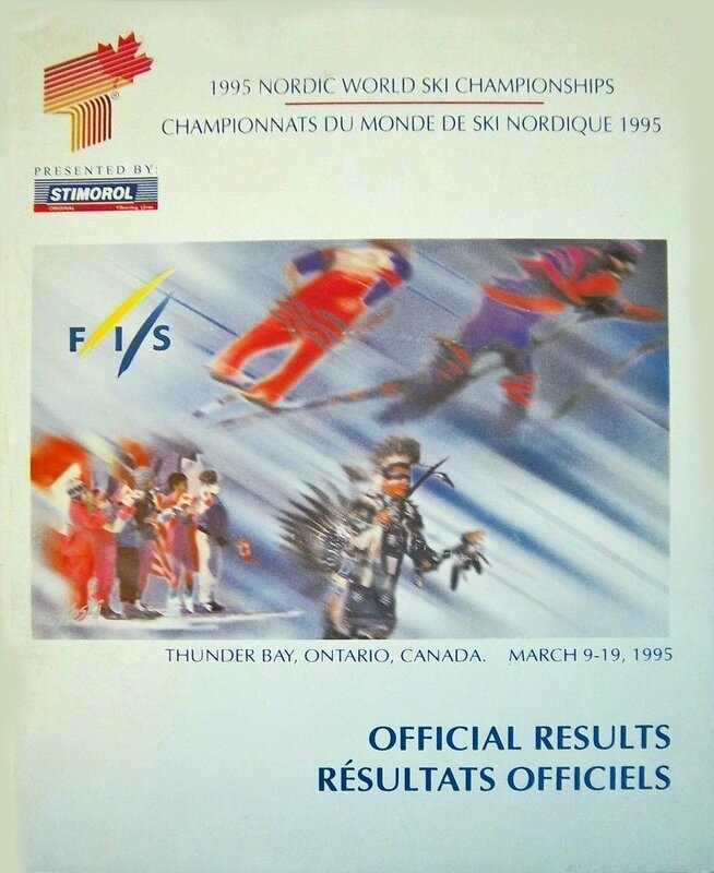 Rapport 1995 FIS Thunder Bay