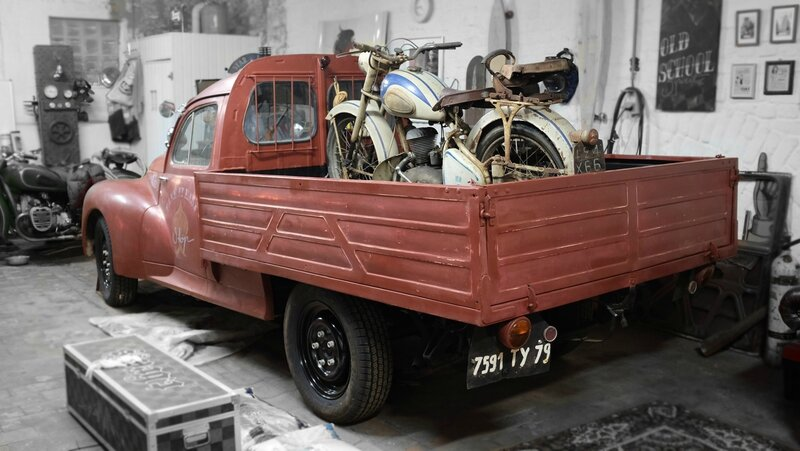 frenchie rat rod. Black Bedroom Furniture Sets. Home Design Ideas
