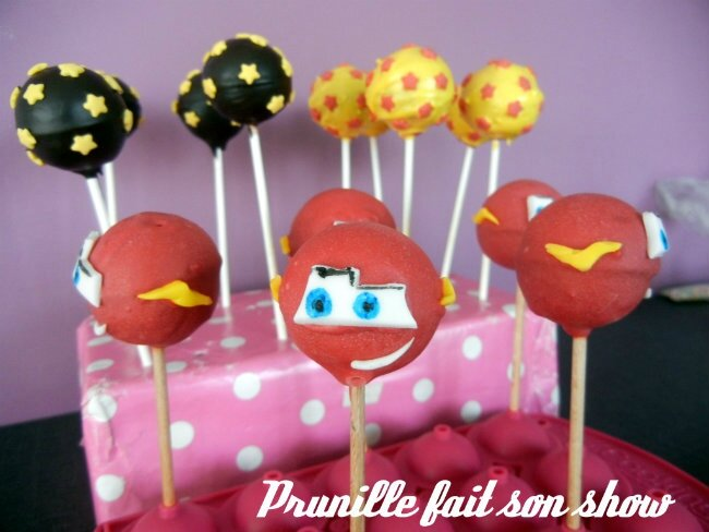 cakepops cars2 prunillefee