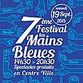 7ème festival des mains bleues