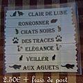 pochette 12 chats