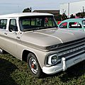 Chevrolet c10 custom suburban-1965