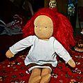 Soir de fête pour notre nouvelle poupée