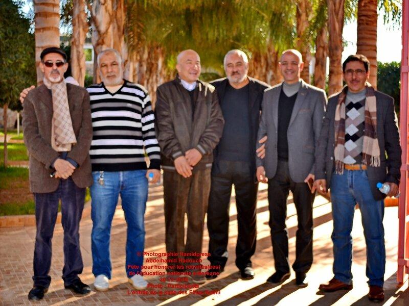 Fête pour honorer des retraités(ées) de l'éducation nationale à Berkane 30-12-2016 (36)