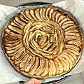 Tarte fine & rustique aux pommes