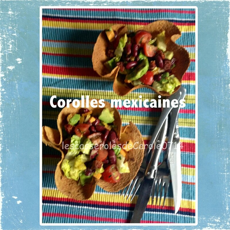 corolles mexicaines (scrap)