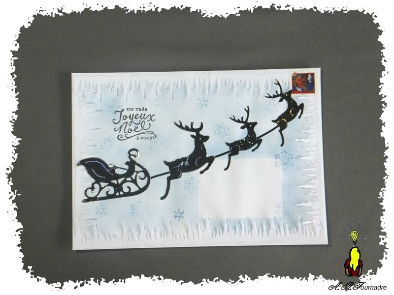 ART 2016 12 mail art traineau 1