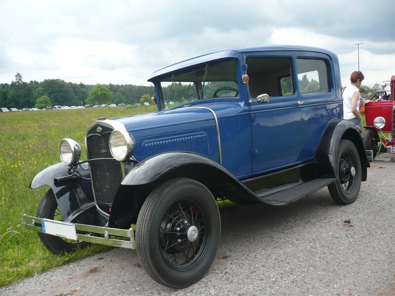 FORD Model A 2door Sedan Bad Teinach - Schmieh (1)