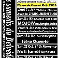 Programme octobre 2016