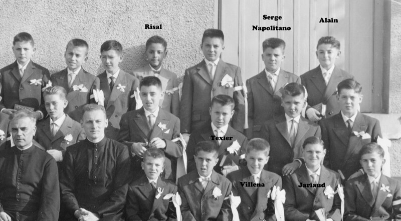 communions noms photo 2 1958
