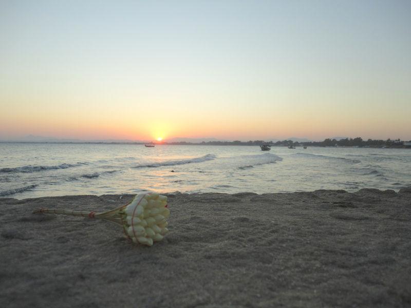 Le coucher de soleil du jeudi 18 août 2011