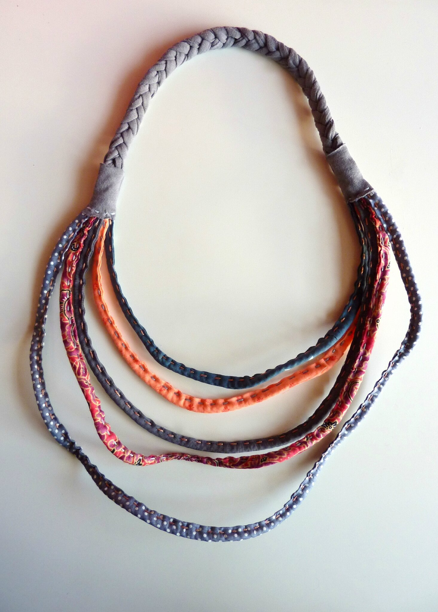 Collier multirangs