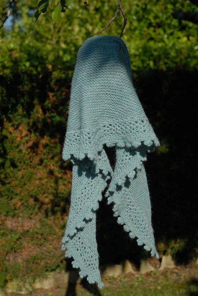 shawlette Rosine de Barjolaine