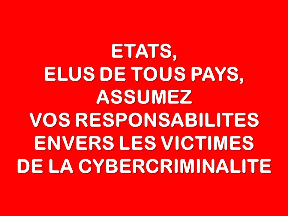 Remboursement et/ou indemnisation - Arrestation des cybercriminels après une escroquerie sur internet : la solution est là !