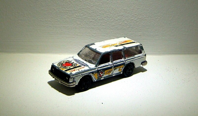 Volvo 245 DL (tour de france)(Majorette)
