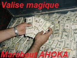Valise magique-marabout ahoka