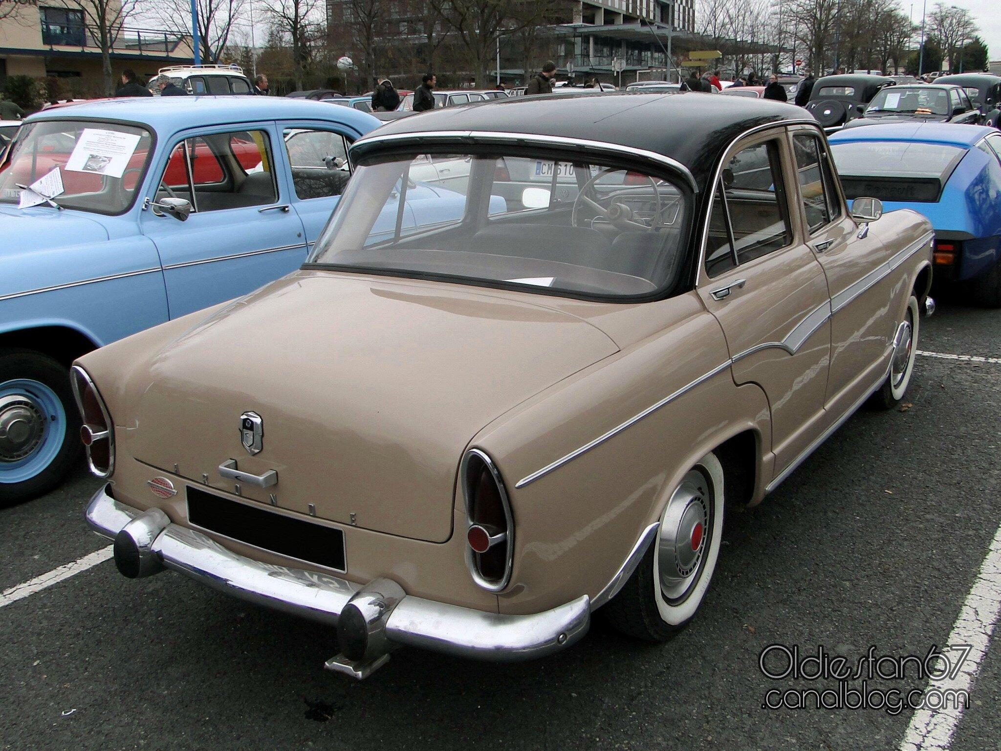 1959 Simca Aronde Sedan-green- rVl ritz-mx - Picture Gallery ...