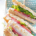 Club Sandwich au Philadelphia 