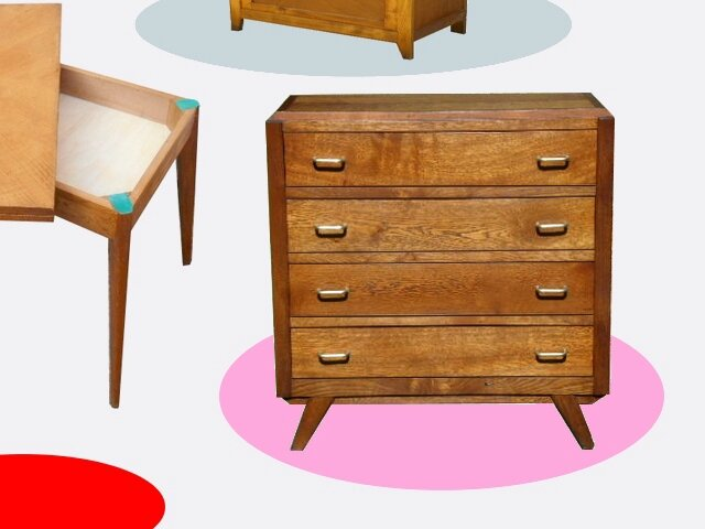 COMMODE VINTAGE ANNEES 60
