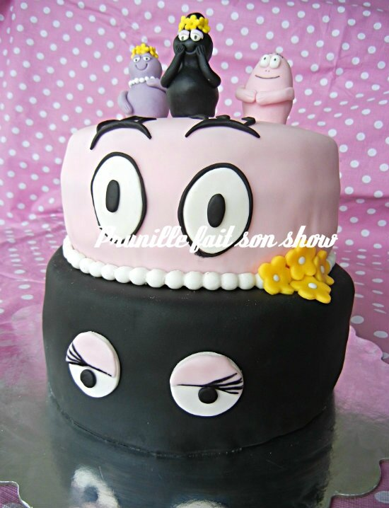 barbapapa wedding cake prunillefee
