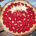 Pâte sablée pour tarte aux fraises