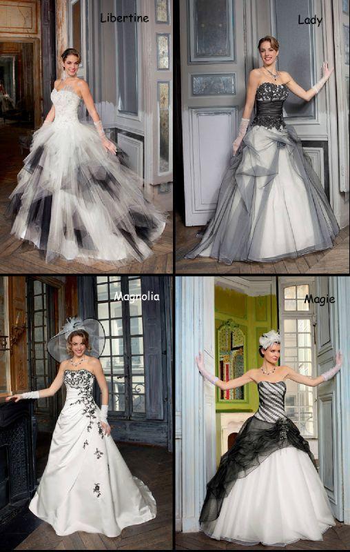 robes de mari es noire et blanche organisez votre mariage ou votre pacs. Black Bedroom Furniture Sets. Home Design Ideas