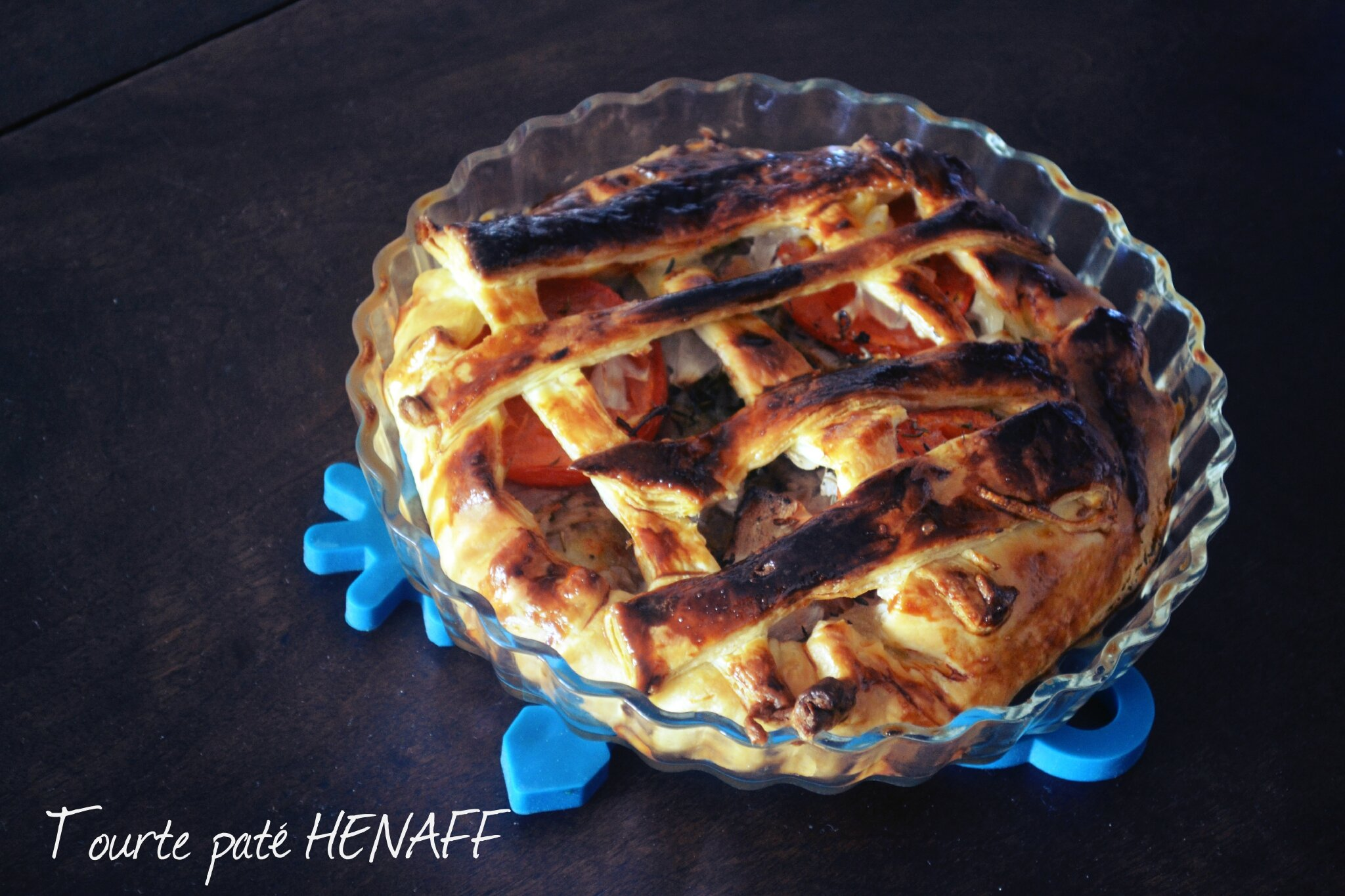 Tourte feuilletée au paté HENAFF [Ultra simple]