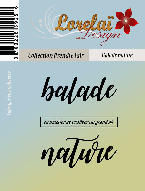 balade nature PACKAGING