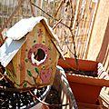 Déco noël diy : maisonnette à oiseaux