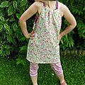Top -tunique en couture de p'tite soeur
