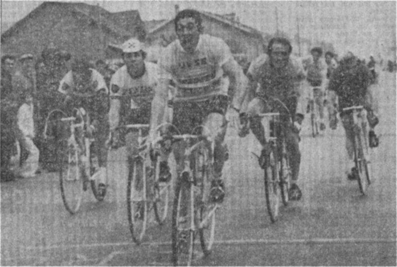Limoges Saint-Léonard 74 (le sprint)
