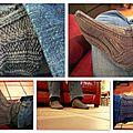 Des chaussettes à torsades
