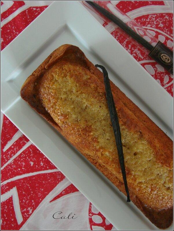 Cake Léger Triple Vanille 002