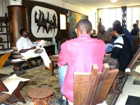 Restitution à l'Académie des Beaux-arts de Kinshasa