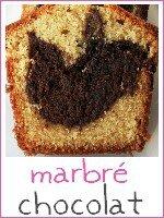 cake marbré chocolat - index