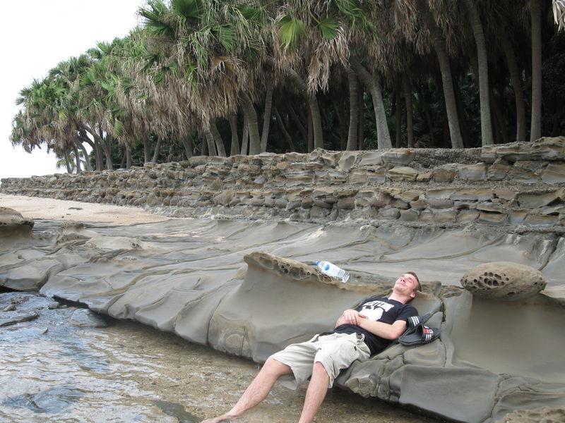 Les roches ayant des formes de plus en plus bizarres. Très confortables aussi:)
