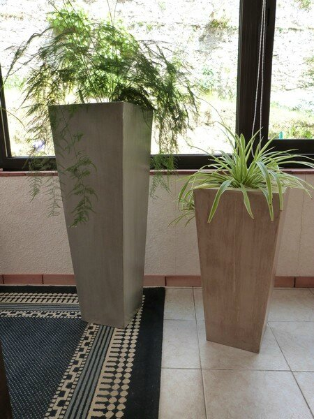 grand cache pot en carton exoticcreation. Black Bedroom Furniture Sets. Home Design Ideas