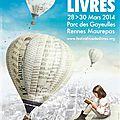 Festival rue des livres 2014