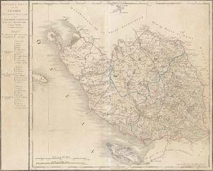 Carte de la Vendee en 1790