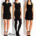 robe noir nouvel an 2014