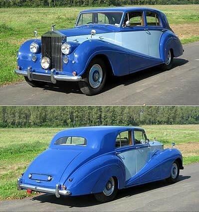 ROLLS-ROYCE - Silver Wraith Saloon, Carrosserie Freestone & Webb - 1952