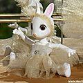 Hujoo bjd rabbits dance