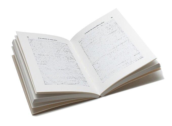 OMMAGE 2.1, Manuel, Paris, 2013. 14 x 20 cm, broché, 2 volumes (200 p. et 128 p.). Tirage limité à 70 exemplaires numérotés et signés. Avec l'aide du fonds de dotation agnès b